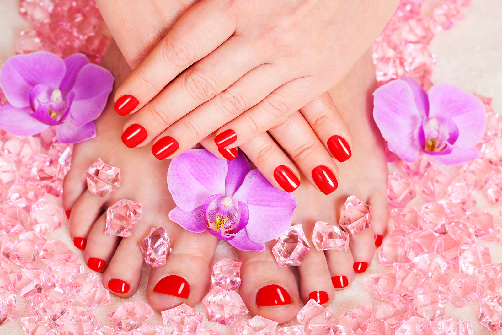 Nail Skin Beauty for Toes